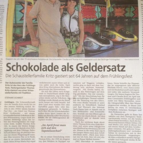 Geislinger Zeitung 2016